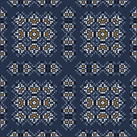 Traditioneel, inheems ogend naadloos patroon, abstracte kleurrijke achtergrond, textuur