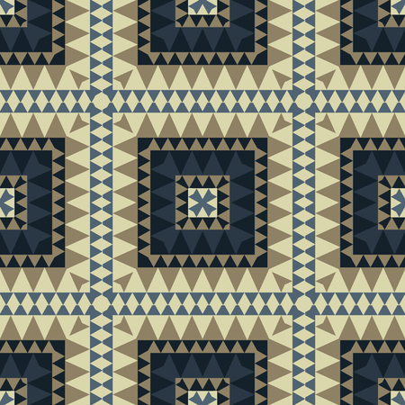 Geometric colourful with tribal look seamless pattern, abstract colorful background, texture.
