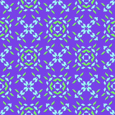 Sharp shapes seamless pattern, abstract colorful background, texture