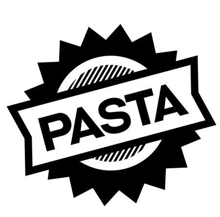 pasta black stamp