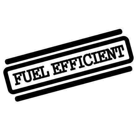 fuel efficient black stamp on white background Çizim