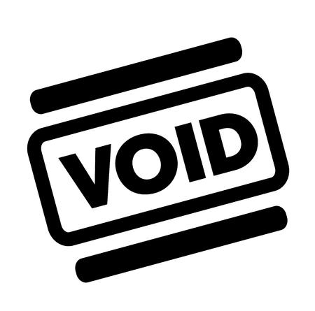 void black stamp Illustration
