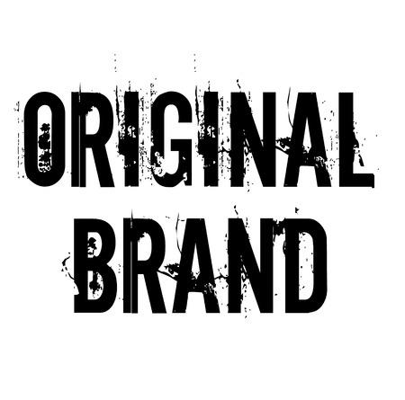timbro di marca originale