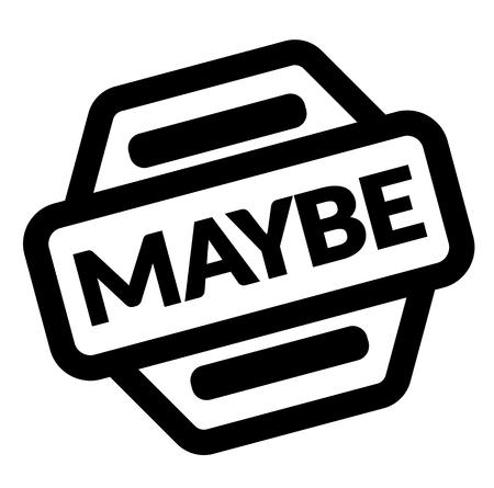 maybe black stamp