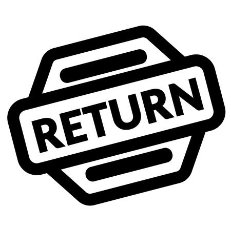 return black stamp Stock Illustratie
