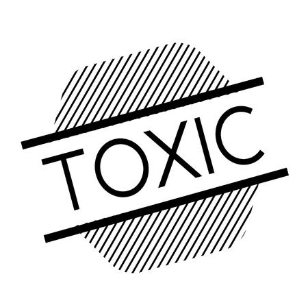 toxic black stamp
