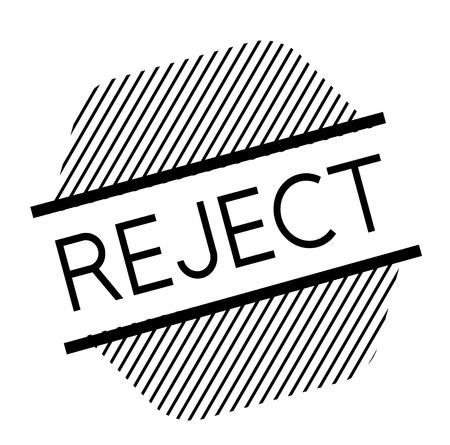 reject black stamp