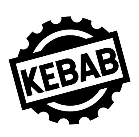 kebab black stamp