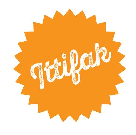 hook up bla ck stamp in turkish language. Sign, label, sticker.