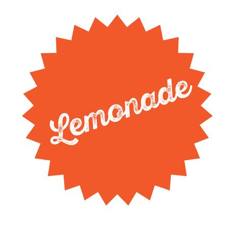lemonade stamp on white background . Sign, label sticker