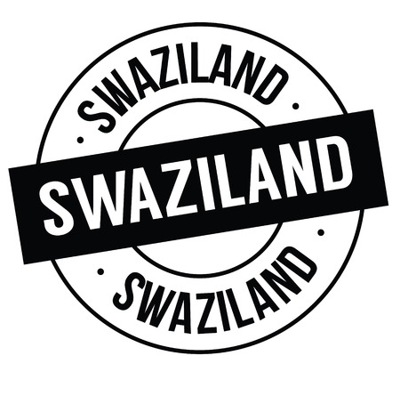 swaziland stamp on white Standard-Bild - 106737143