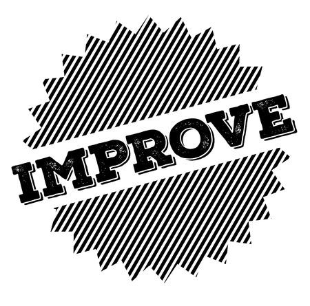 improve black stamp on white background