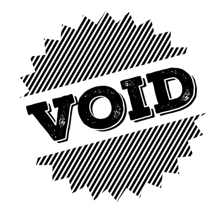 void black stamp on white background