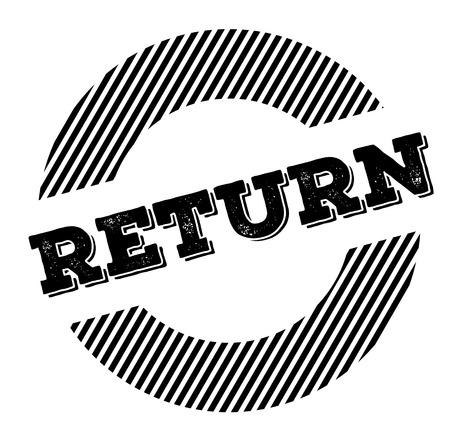 return black stamp on white background