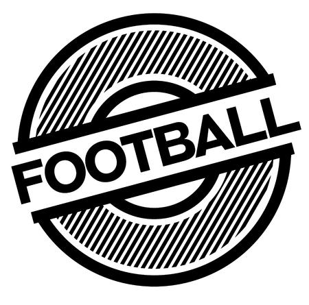 football black stamp on white background , sign, label Stock Illustratie
