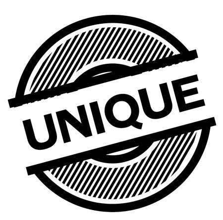 unique black stamp