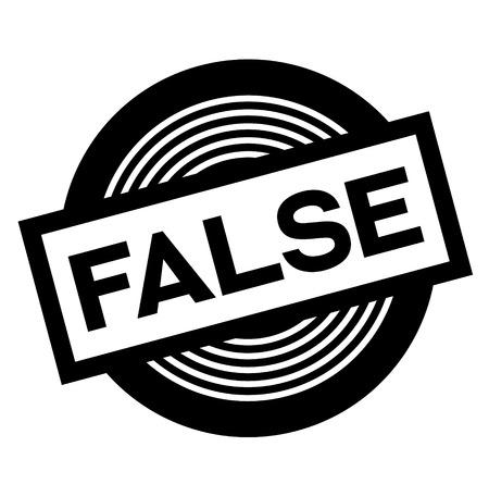 faux timbre noir sur fond blanc, signe, étiquette