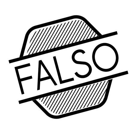 false black stamp in italian language. Sign, label, sticker Illusztráció