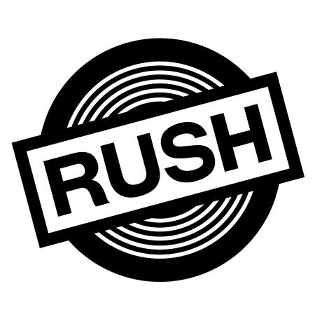 rush black stamp