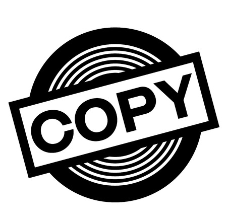 copy black stamp Illustration