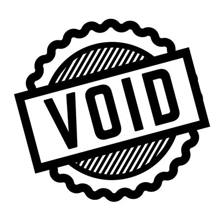 void black stamp Vector Illustration