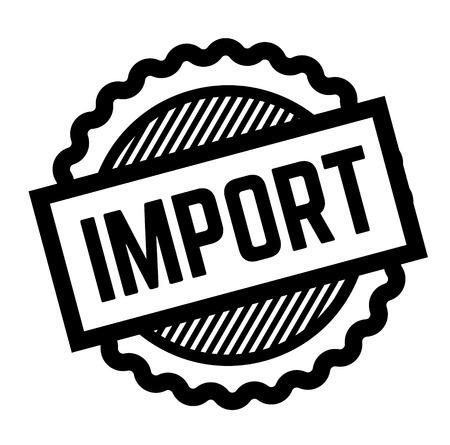 import black stamp on white background. Sign, label, sticker Vektoros illusztráció