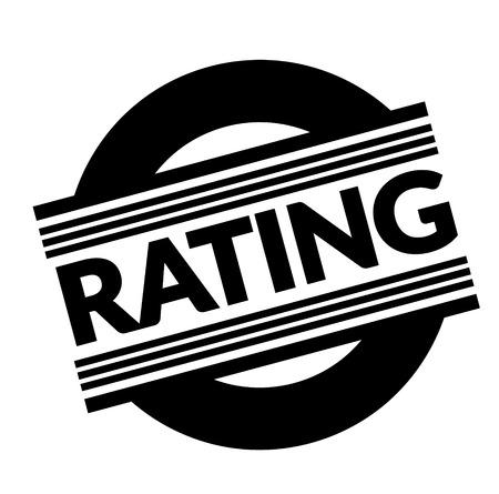 rating stamp on white background . Sign, label sticker 版權商用圖片 - 111799601