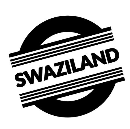 swaziland stamp on white background . Sign, label sticker Standard-Bild - 111801225