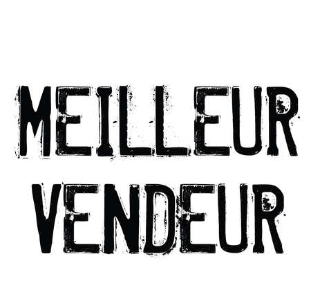 top seller stamp in french