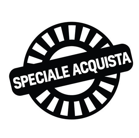 special buy stamp in italian