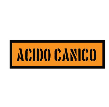 cyanic acid stamp in italian