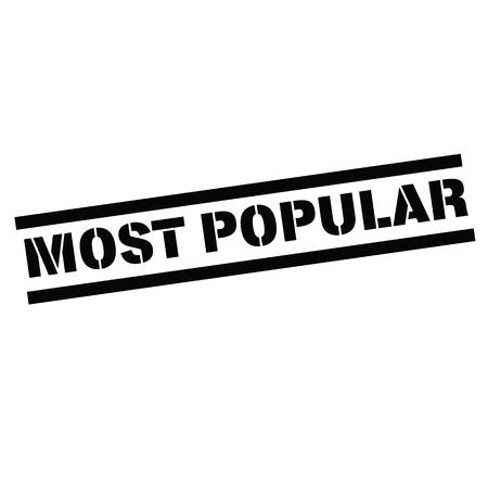 most popular rubber stamp black. Sign, label sticker