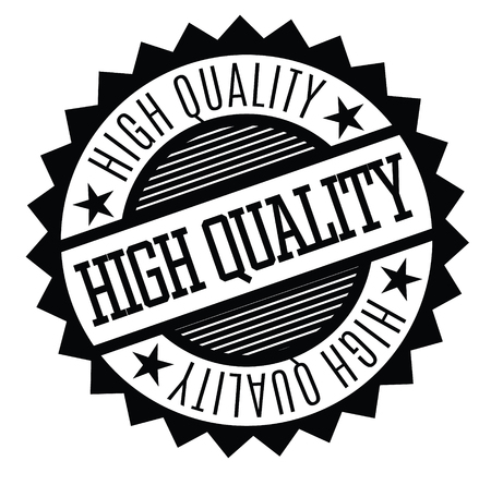 high quality rubber stamp black. Sign, label sticker