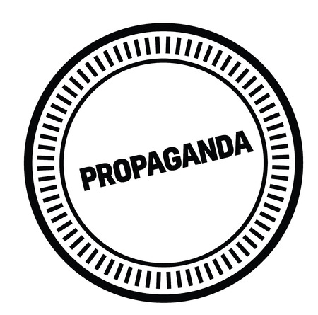 propaganda rubber stamp Illustration