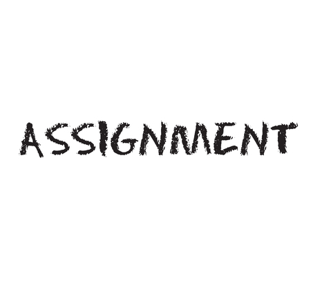 assignment rubber stamp