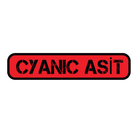 cyanic acid stamp in turkish