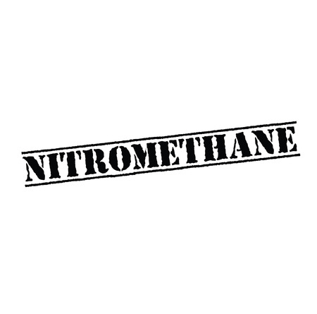 nitromethane stamp on white