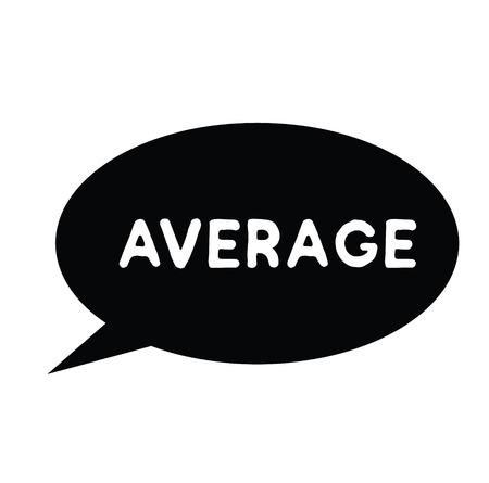 average black stamp on white background. Sign, label, sticker Reklamní fotografie - 110404061