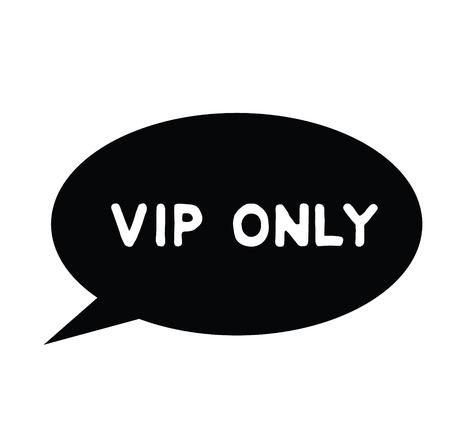 vip only black stamp on white background. Sign, label, sticker 版權商用圖片 - 107540745