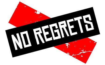 Aucun signe d'attention de regrets. Attention série rouge et noire.