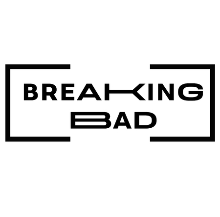 BREAKING BAD stamp on white background. Signs and symbols series. 版權商用圖片 - 124026946