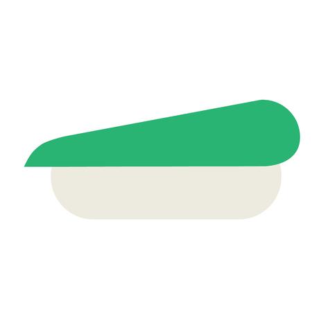 Shushi flat illustration. Food and home kitchen series. Ilustración de vector