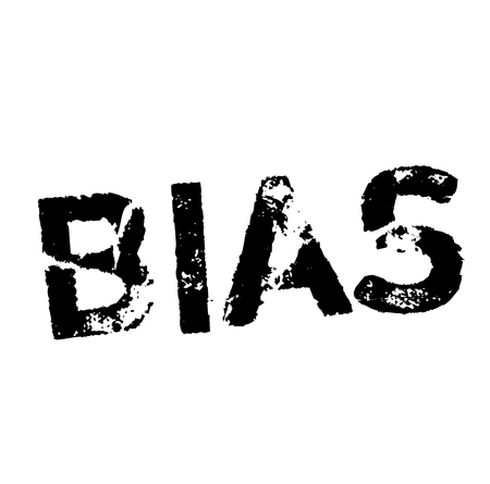BIAS stamp on white. Stamps and advertisement labels series.