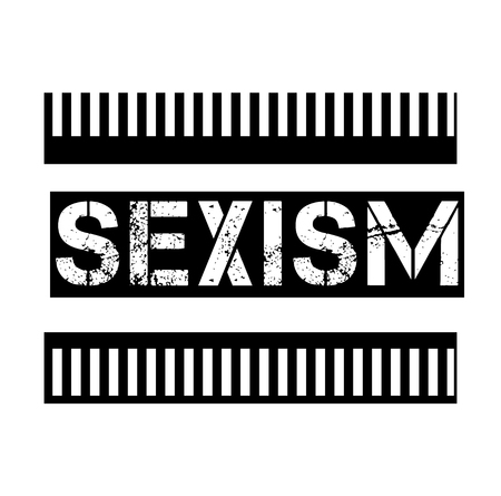 SEXISM stamp on white background. Signs and symbols series.