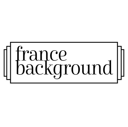 FRANCE BACKGROUND stamp on white background. Stickers labels and stamps series. Vektoros illusztráció
