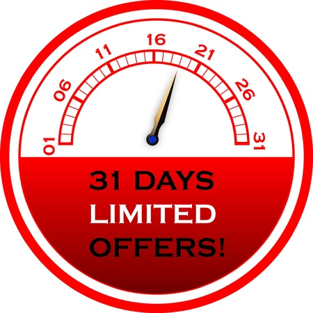 below: 31 days Limited Offers