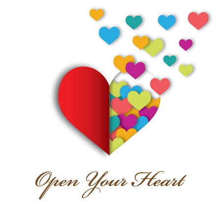 open your heart: Open your heart