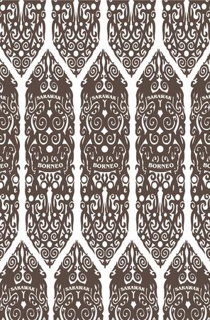 Borneo s culture Stock Vector - 27046554