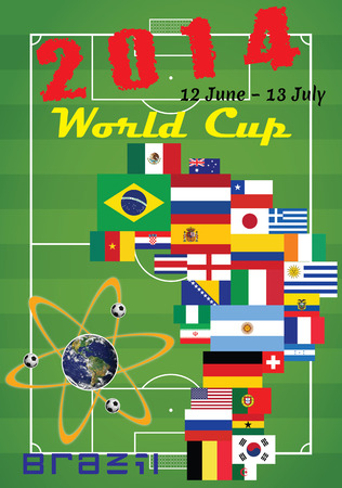 2014 World Cup - Football Soccer