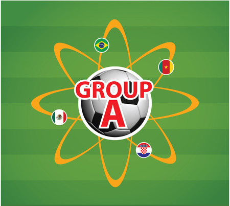 World Cup 2014 Group A Stock Photo - 27540880